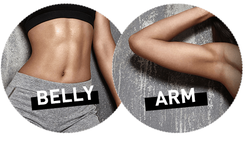 belly & arm